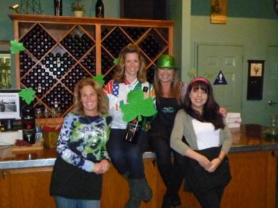 St Patricks Day & Wine pick up party 001