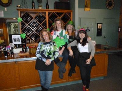 St Patricks Day & Wine pick up party 002