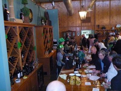 St Patricks Day & Wine pick up party 009