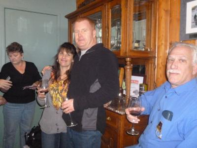 Wine pick up party & Tour group 009