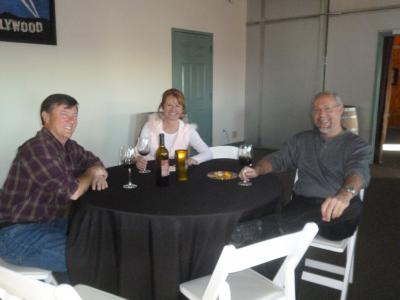 Wine pick up party & Tour group 010
