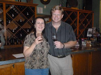 Wine pick up party & Tour group 011